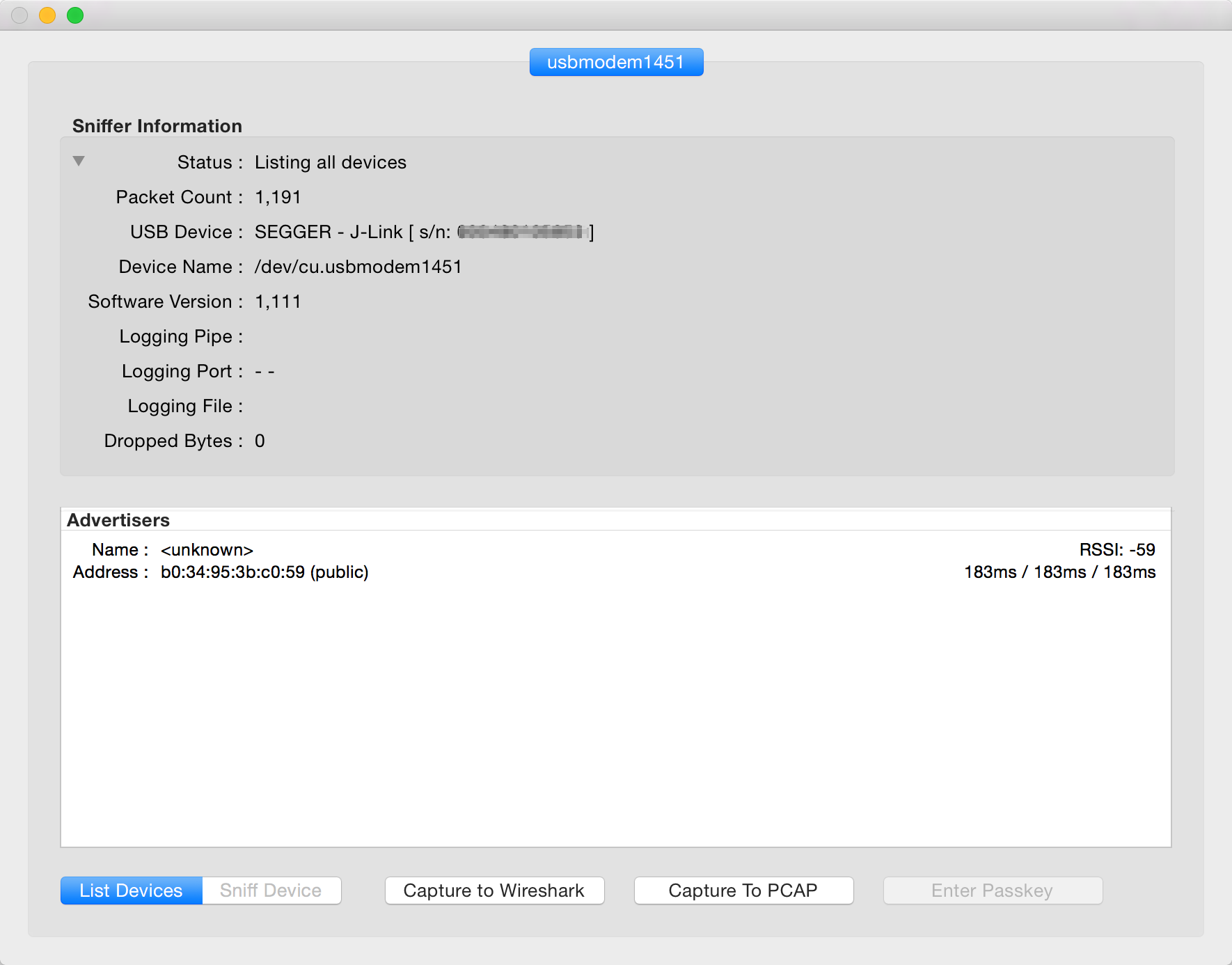 Sniffer application for OS X - Nordic Blog - Nordic Blog