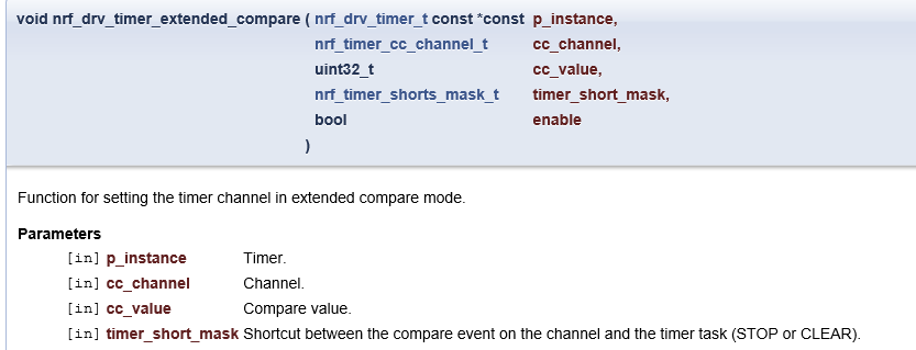 What is extended compare mode in timer? - Nordic DevZone