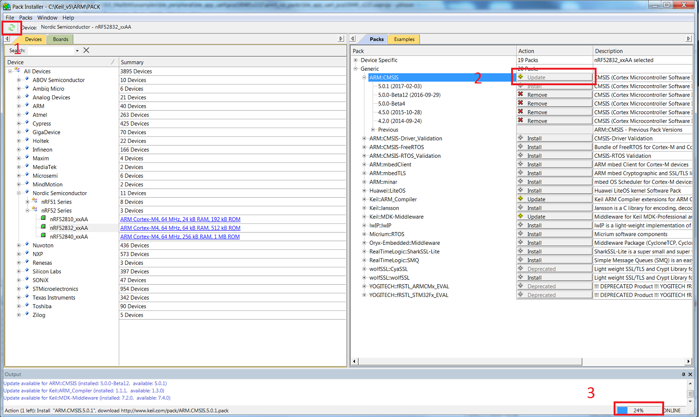 PCA10040 issues - Nordic DevZone