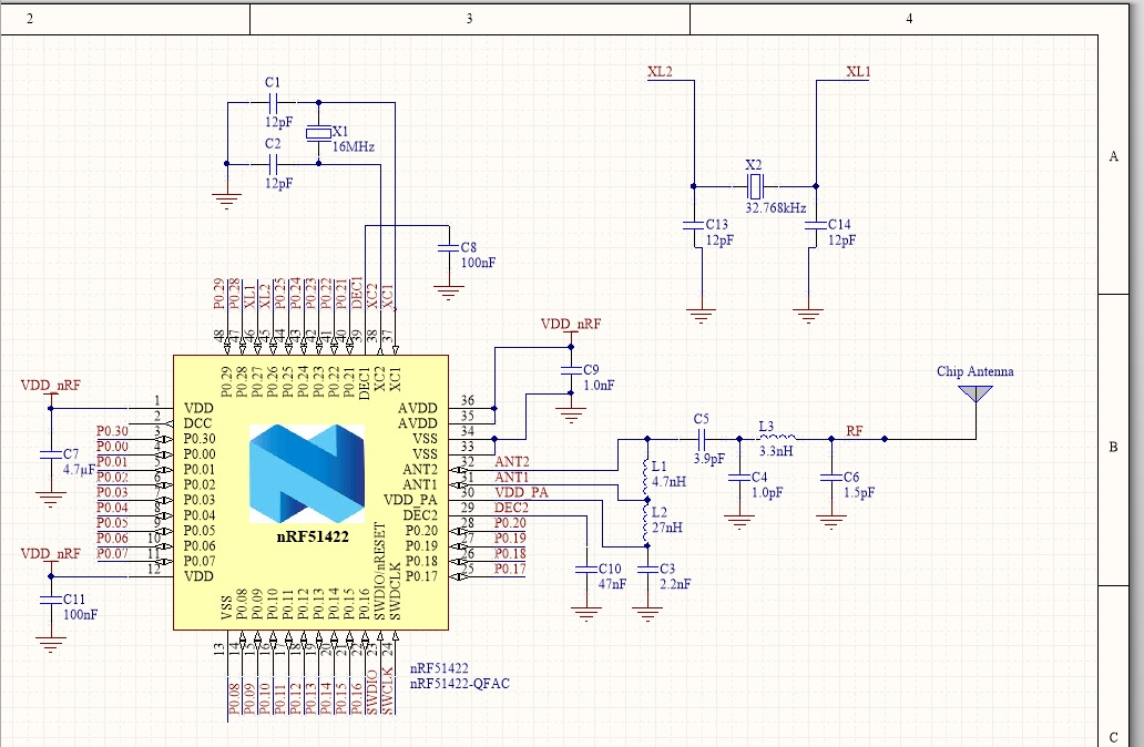 Layout design using SMD antenna - Nordic DevZone