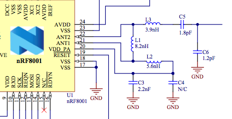 Mystery capacitor C4 in nRF8001 reference balun design - Nordic DevZone