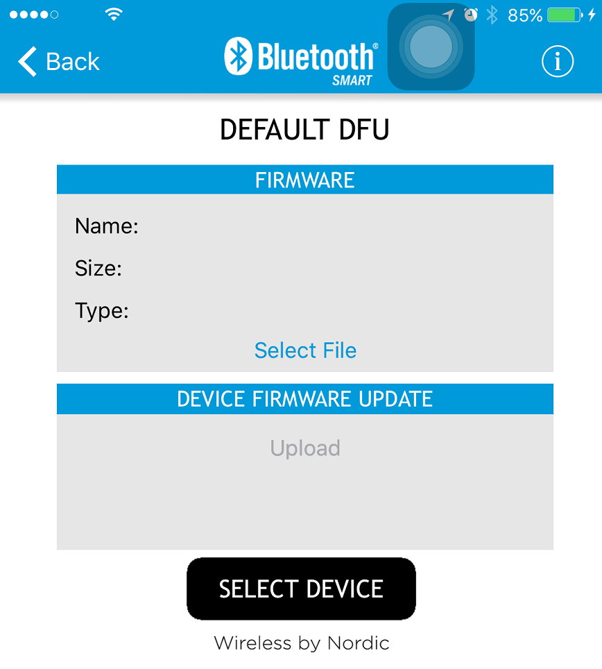 DFU] Is the peripheral doing direct advertisement at bootloader