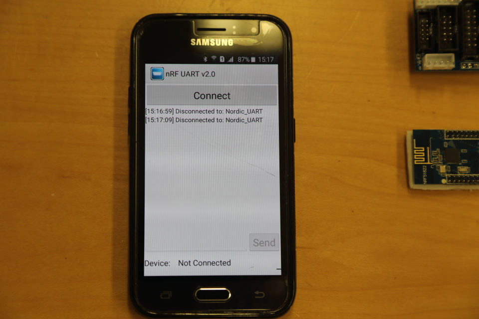 ble_app_uart with Android failed - Nordic DevZone