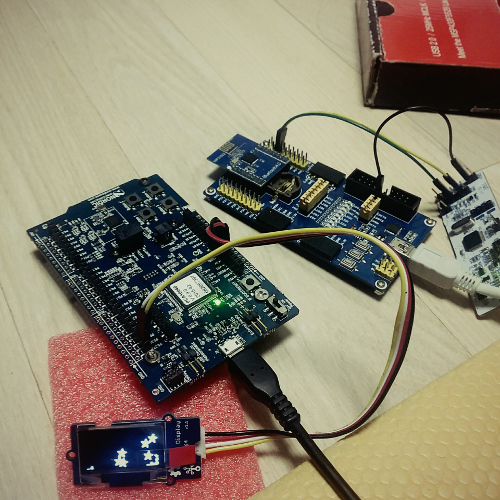 Any example code for OLED sd1306 with TWI/I2C and nrf52 - Nordic DevZone