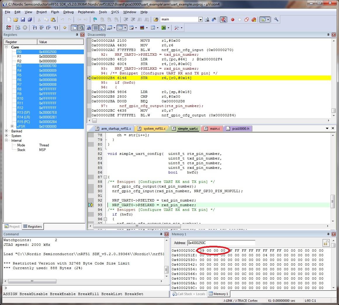 Invert UART TX Signal - Nordic DevZone
