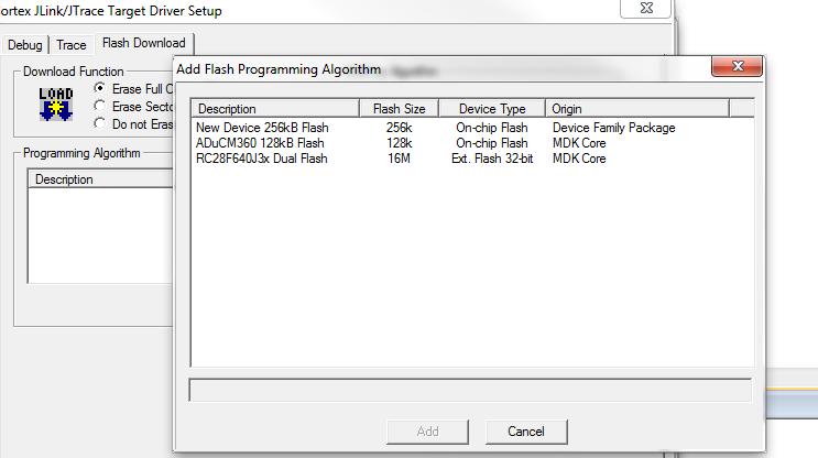 how to add flash programming algorithm nordic devzone rh devzone nordicsemi com Radio Programming Document Programming Manuals Icon