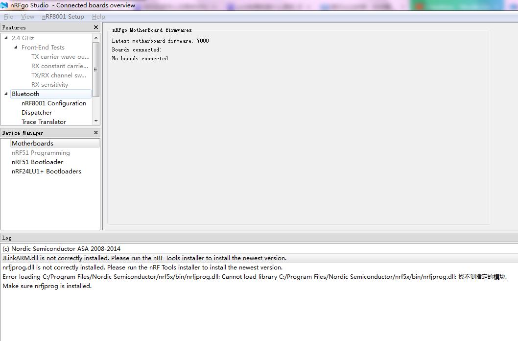 nRFgo Studio installation error - Nordic DevZone