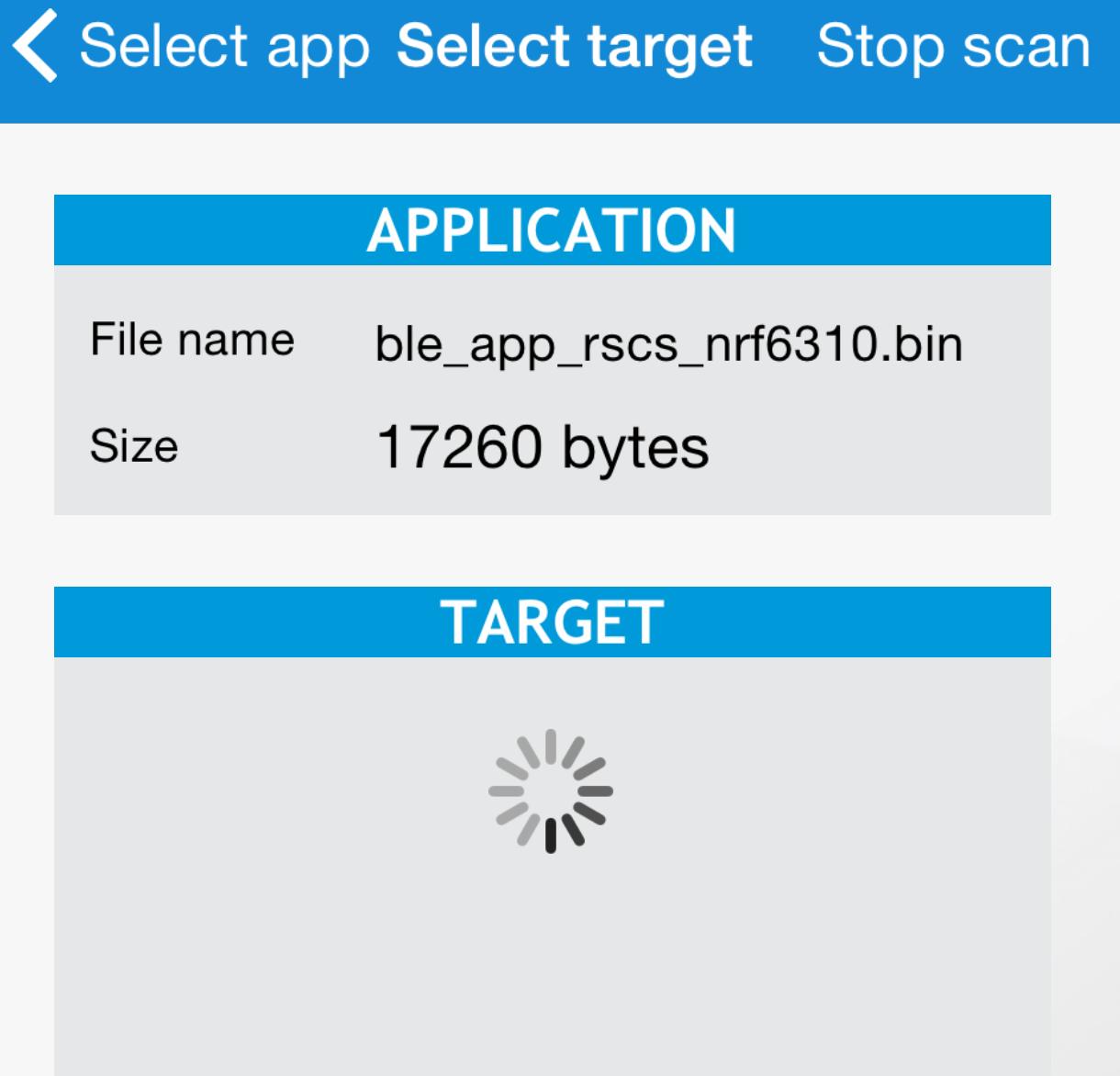 nrf51-ble-app-temp Example - DFU App returns error - Nordic