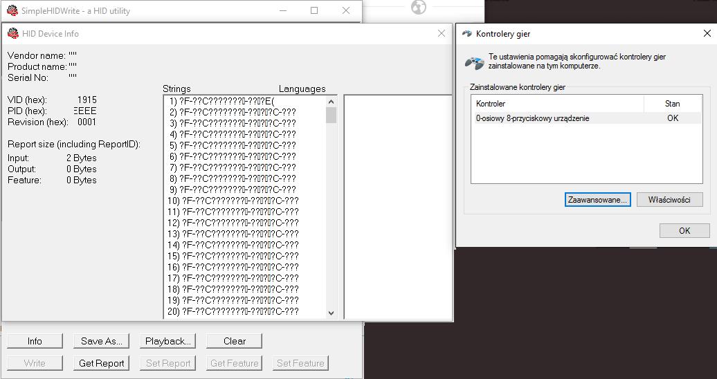 HID Vendor/Product name blank in Windows - Nordic DevZone