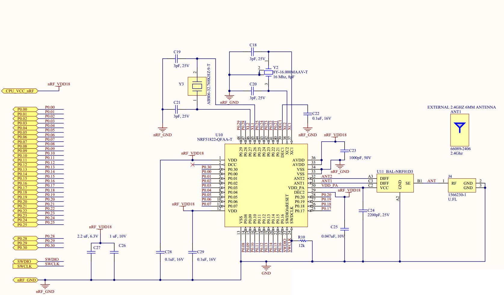 nrf51822 low voltage mode, can't program part - Nordic DevZone