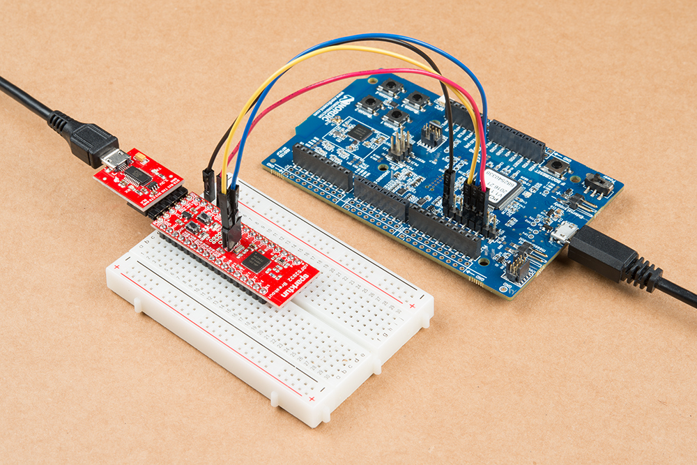 Program Sparkfun nRF52832 Breakout Board using nRF 52 DK