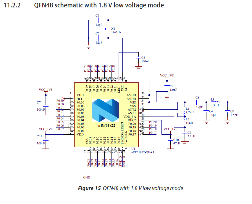 nrf51822 low voltage mode, can't program part - Nordic DevZone on