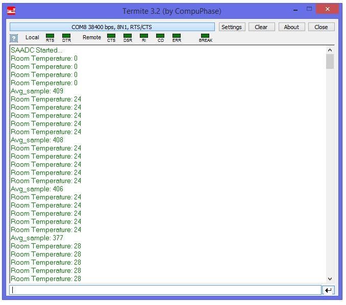 nRF52832 SAADC sampling - Nordic DevZone