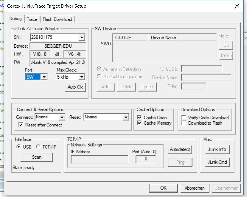 Connecting Jlink EDU-SWD mode to Nrf52832 - Nordic DevZone