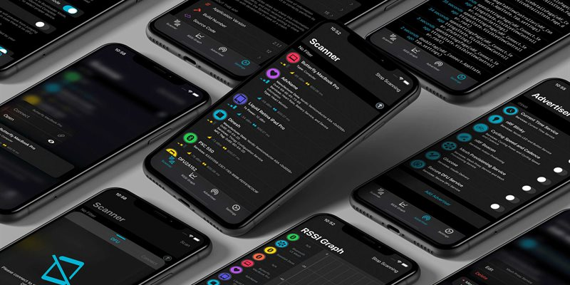 nRF Connect 2.1 for iOS: Welcoming Dark Mode