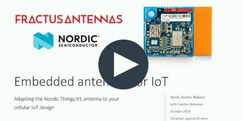 "Q&A for ""Embedded Antennas for IoT"" webinar"