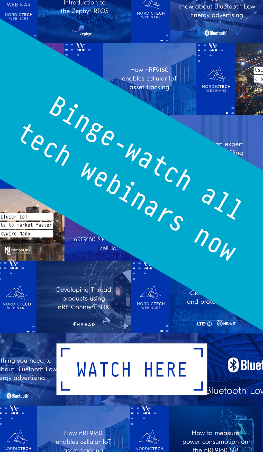 Binge-watch our tech webinars