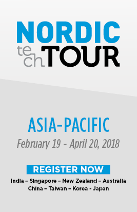 Nordic Tech Tour Asia - Pacific Feb 2018