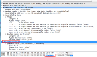 wireshark CRC decode issue - Nordic DevZone