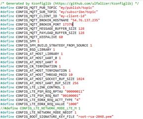 nrf9160 MQTT sample problem - Nordic DevZone