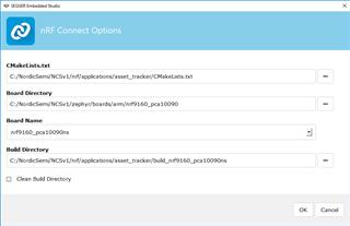 CMake error - Nordic DevZone