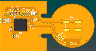 Flexible PCB design for 18650 - Nordic DevZone