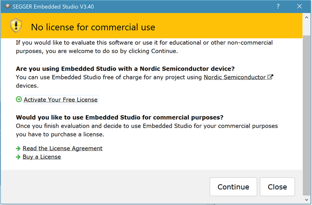 Is there a free IDE which is official recommended and multi
