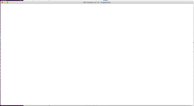 On Mac OS X, Programmer 1 1 0 (nRF connect for Desktop 2 7 0