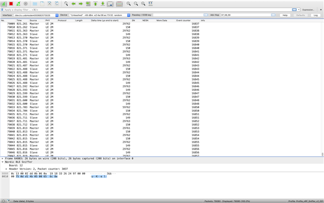 Sniffer failing to get or parse packets in Wireshark